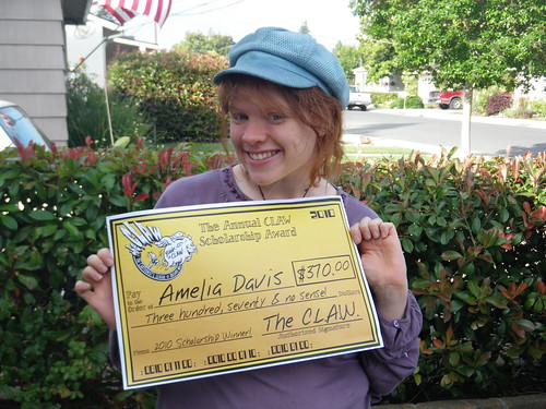CLAW Scholarship Winner 2010