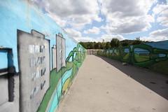 Green Chain Walk, Thamesmead (Kam Sanghera) Tags: thamesmead green chain walk se2 se28 abbey wood mural london canon eos 5d mark ii ef20mm f28 usm