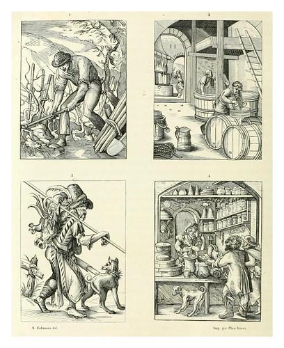 017-Estampas oficios en la Edad Media-Le moyen äge et la renaissance…Vol III-1848- Paul Lacroix y Ferdinand Séré