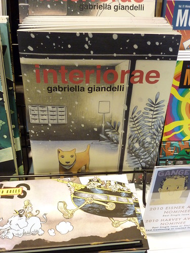 Comic-Con 2010 debut: Interiorae #4 by Gabriella Giandelli
