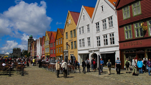 The Warehouse District - Bergen, Norway