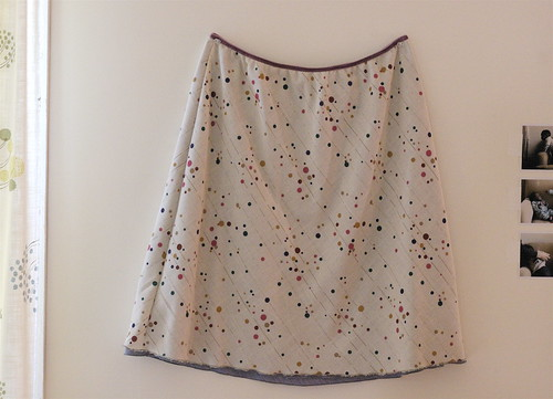 Quick Skirt in Reverse!