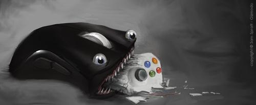 xBox 360 VS PC: serijinis žudikas išaiškintas!