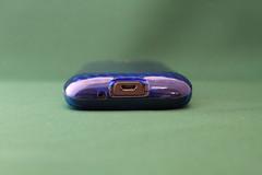 レイアウト HTC Desire SoftBank X06HT用ソフトジャケット ブルーRT-HX06C4/A