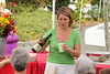Chef Holly Smith whipping up Zabaglione at Bellevue Farmers Market | Bellevue.com