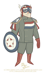 Captain America PR redesign