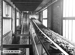 Dawdon Colliery Modernisation - conveyor system to new washery plant. (Beamish Museum) Tags: history museum mine durham archive loco pit historic mining beamish collections 1960s coal northeast miners colliery modernisation dawdon seaham countydurham castlereagh northeastengland photoarchive coalfield beamishcollections