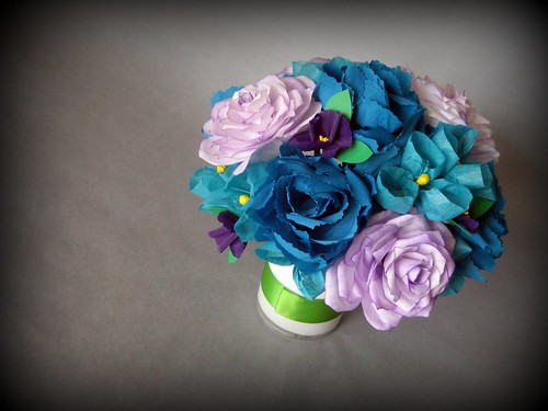 paper flowers 802