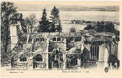Clermont-en-Argonne (Chris Protopapas) Tags: france church landscape ruins postcard wwi gothic worldwari damage vault lorraine destroyed meuse clermontenargonne
