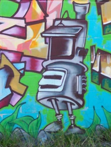 Robot guy Alma Avenue Woy Woy