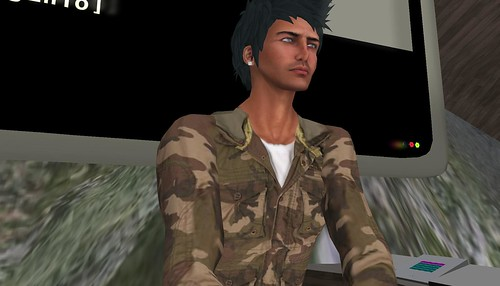 dj DDirty Adamczyk in Second Life