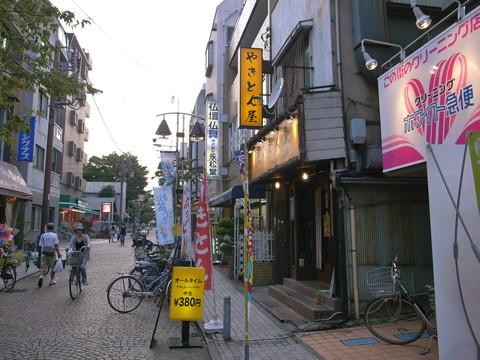 新丸子・医大通り・東栄会商店街