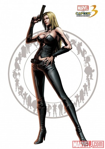 Marvel vs Capcom 3: Fate of Two Worlds Trish of Devil May Cry