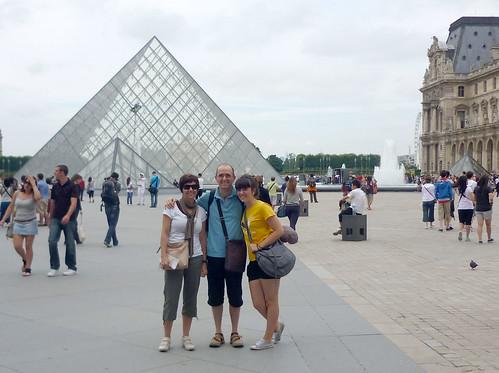 Piramidean, Louvren