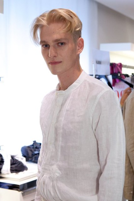 Gerhard Freidl3147_SS11_Milan_Gianfranco Ferre BS(Dazed Digital)