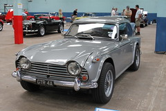 Triumph TR Day - 02 - TR4 Dove GTR4A (Rally Pix) Tags: 40th anniversary dove triumph register tr gtr4a