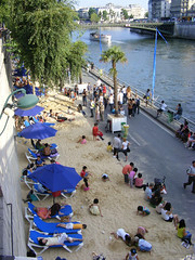 Paris-Plages (by: Mathieu Marquer, creative commons license)