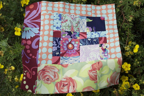 Lydia's block for July