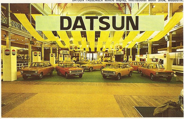 Datsuns At The Melbourne Motor Show