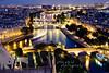 Une nuit a Paris... (Pink Pixel Photography (f.k.a. Sunny)) Tags: city longexposure paris france night lights explore bluehour frontpage jadoreparis imissparis viewfromnotredame parisisalsocalledthecityoflights