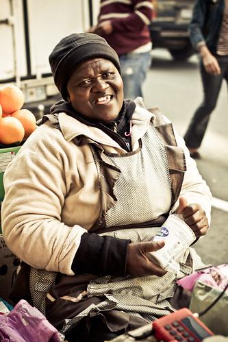 Jozi walkabout - street vendor