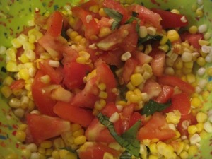 Corn and Tomato Salad @ EZ Recipes