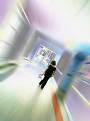 on call corridor (Mike Ashton) Tags: hospital alone walk fear corridor doctor iphone dapagroupmeritaward dapagroupmeritaward2
