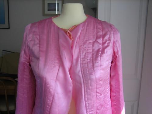 Nashville Chanel inside jacket halfway