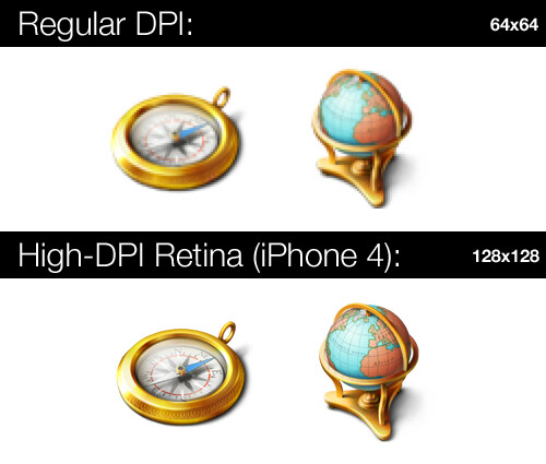 iPhone 4 Retina Display (Aral Balkan)