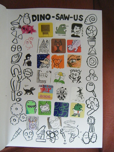 Dino-Saw-Us Stickers 1
