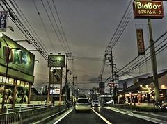 iPhone 4 shot : Oloneo PhotoEngine test- 加古川市国道2号線西谷交差点 R2 Kakogawa 20100802-HDR