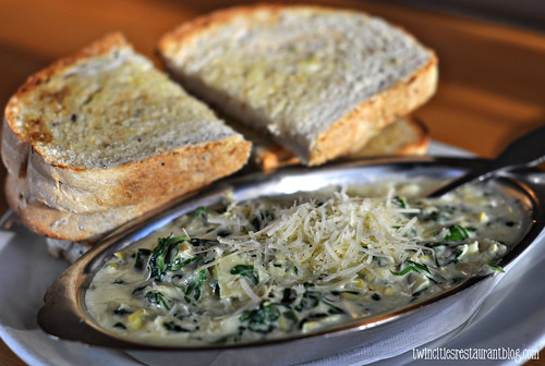Spinach Artichoke Dip @ Brick Oven ~ Austion, TX