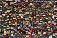 soo much LOVE  :) (Werner Schnell Images (2.stream)) Tags: love lock cologne kln locks schloss liebe schlsser ws hohenzollernbrcke liebesschlsser amorchetti