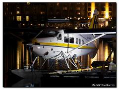 Resting for the Night (ian_beatty) Tags: britishcolumbia aviation victoria vancouverisland otter harbourair seaplane floatplane turbootter dhc3