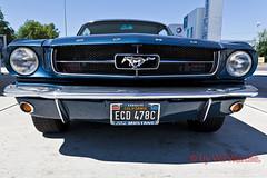 1965 Blue Mustang (Wil Wardle) Tags: california blue canon photography photographer retro fordmustang bullitt f28 1965 retrofeeling canonef2470mm 5dmk2 wilwardle ecd478c ebphoto carportraiture