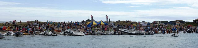 Mudeford raft Race 2010 Spectators