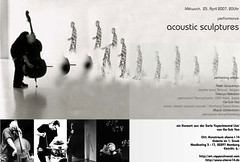 Event: Acoustic Sculpture 2007