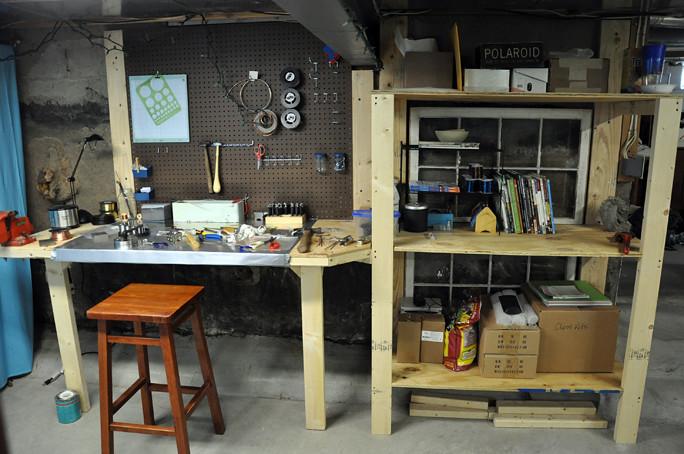 new studio desk