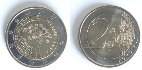 2 Euros de Eslovenia