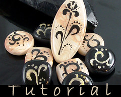 Tutorial Polymer Clay and Resin Faux Lampwork (Eugena Topina) Tags: clay faux lampwork tutorial polymer eugena