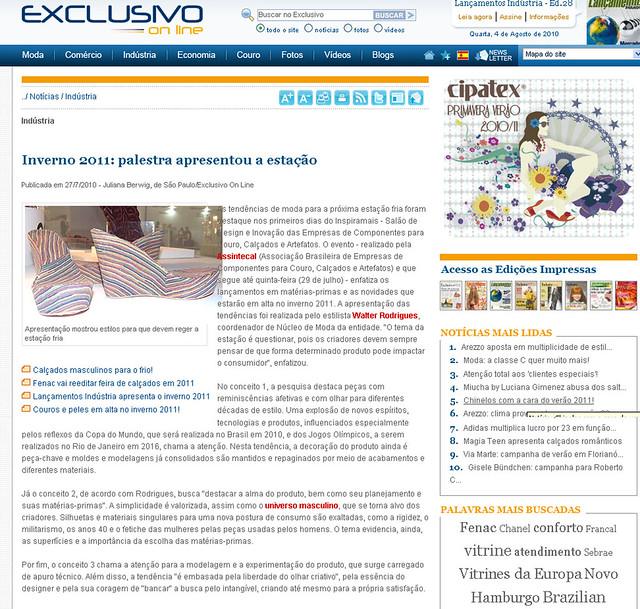 EXCLUSIVO ONLINE - INVERNO 2011 - PALESTRA APRESENTOU A ESTAO - 2707 by Inspiramais 3