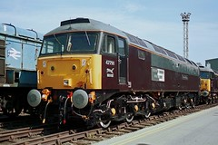 gb_960817_47798CWKS copy (MUTTLEY'S PIX) Tags: train br rail loco brush britishrail duff sulzer 1656 class47 47798 creweworks 47072 47834 originalscan d1656 47609