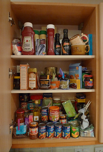 kitchen food cupboard