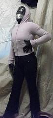 97 (Lara-Lee Lovedoll) Tags: leather female fetish tv doll mask boots bondage rubber crossdressing gloves heels latex corset gag layers tight bound nylon wetsuit catsuit pvc lovey enclosure feminization rubberdoll zentai breathplay