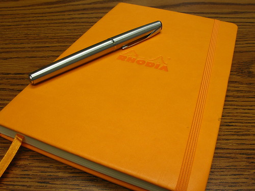 "Rhodia Large Web Notebook (""Webbie"")"