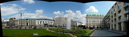 Panorámica de la Plaza de París