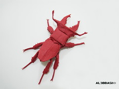 Lucanus Swinhoei (Al3bbasi.) Tags: insect origami stag beetle lucanus swinhoei lucanusswinhoei al3bbasi pavelnikulshin