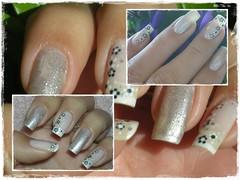 Unha da semana (passada) (Mhilka ♥) Tags: nail nailart unha esmalte francesinha decorada