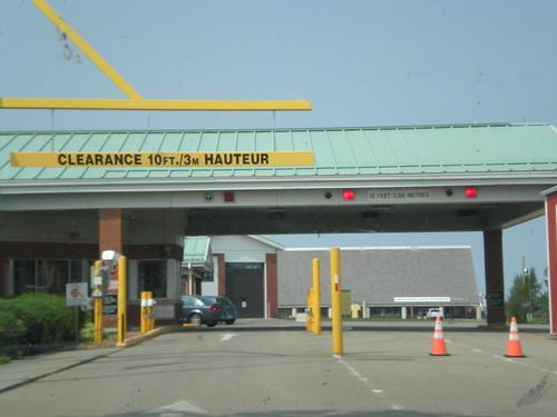 Border patrol station