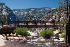 Top of Nevada Fall Photo